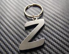 Z Letter Alphabet Name Keyring Keychain Key Fob Bespoke Stainless Steel Gift