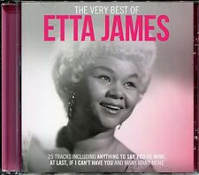 THE VERY BEST OF ETTA JAMES CD - TRUST IN ME, FOOL THAT I AM & MORE