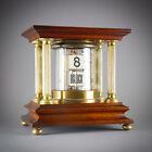 C.1905 GERMAN ANTIQUE PLATO FLIP DIGITAL TICKET DESK CLOCK JUNGHANS PRE LAWSON