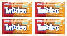 4 TWIZZLERS Orange Cream Pop Filled Flavored Candy LIMITED EDITION 11 OZ