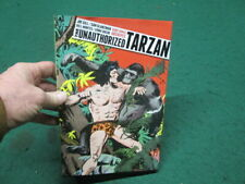 THE UNAUTHORIZED TARZAN SIGNED 1st ED 34/250 Graphic Novel Comic Strips