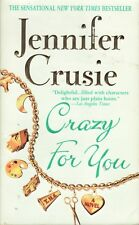 CRAZY FOR YOU ~ Jennifer Crusie ~ 2000 Mass-Market Paperback ~ Romance
