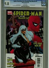 SPIDER-MAN AND THE BLACK CAT #4 OF 6 CGC 9.8 MINT WHITE PAGES 2006 DAREDEVIL APP