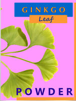 120-1,500 g. Ginkgo leaf Powder 100% Pure Gingko Maidenhair Tree