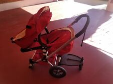 Red Bugaboo Frog Baby Strollers. VERY NICE!! CLEAN PREOWNED PLUS ACC.