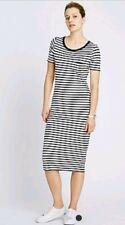 M&S CollectionStriped Midi Dress UK SIZE 12