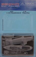 Aires 1/48 A-10A Thunderbolt II wheel bay for Italeri kit # 4354/*