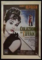 Manifesto Desayuno De Tiffany Audrey Hepburn Breakfast At TIFFANY'S Cine P04