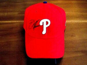 JIM THOME PHILADELPHIA PHILLIES HOF SIGNED AUTO GENUINE NEW ERA CAP HAT MLB