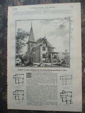 1889 Bern Kirchenfeld Baugesellschaft