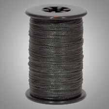 """Black BCY Halo .014"""" Braided Spectra Serving Material Spool Bow String"""