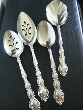 1969 Community Plate Silverplate Baroque Serving Utensil Flatware