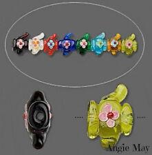 8* Cute Colorful Teapot Fine Art Lampwork Glass Beads