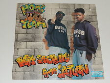 HOME TEAM via satellite from saturn Lp RECORD PROMO PICK IT UP PICK IT UP 1992