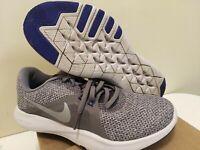 Womens Nike Flex Trainer 8 Size 6.5 Blue Grey Training Shoes