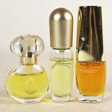Estee Lauder Mini Womens Perfume Bottles Set of 3 Miniature Parfum Fragrance Lot