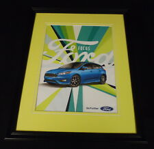 2002 Ford Focus Framed 11x14 ORIGINAL Vintage Advertisement