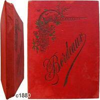 Album 11 photographies c1880 Bordeaux Charles Chambon Charier éditeur Saumur