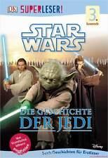 Fachbuch Star Wars™, Die Geschichte der Jedi, Superleser Lesestufe 3, NEU