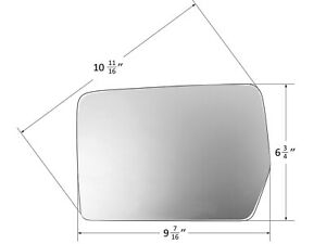 For 2004-2010 F150 & SVT RAPTOR Mirror Glass Non-Heated W/O Base Driver Left LH