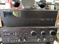 Philips pre-amp and receiver with Sae two power amp.  All items working