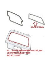 Rear Liftgate Glass Weatherstrip Seal for Jeep Cherokee Wagoneer XJ