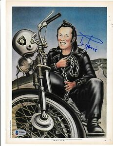 AL DAVIS (Oakland Raiders) Signed Magazine Photo with Beckett LOA