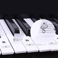 Keyboard Sticker Transparent 88/61/54/49 Note Guide For Learning Piano Keys