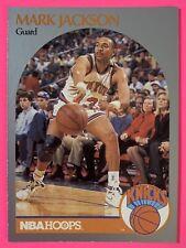 Mark Jackson 1990-91 NBA Hoops Set Break #205 NEW YORK KNICKS/MENDEZ BROTHERS