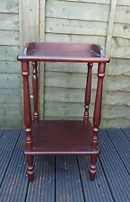 Old 2 Tier Bedside Cabinet Table Shelving Unit Pot Stand Display Furniture Home