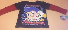 Bubble Guppies Toddler Boy Long Sleeve Top Shirt Awesome Friends New 3T