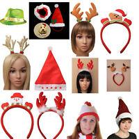 Novelty Christmas Headband Hats Xmas Office Party Festive Fancy Dress Accessory