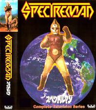 SPECTREMAN NEW RARE 16 DISC BEST QUAILTY SET 63 EPISODES & JAPANESE PILOT
