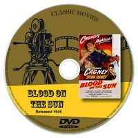 Blood on the Sun 1945 DVD Film James Cagney Drama, Romance, Thriller, Film-Noir