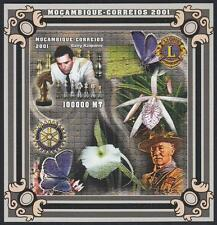 Mosambik (Mocambique) 2001 Scout Pfadfinder + Schach, Mi.1949: Bl.87B UNgezähnt!