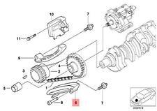 Genuine BMW E38 E39 E46 E53 Sedan SUV Wagon Guide rail OEM 13522247331
