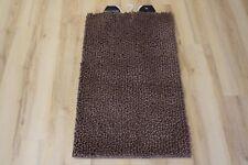 Alfombra de baño alfombra de Baño Stone Marrón 70x120cm Suave