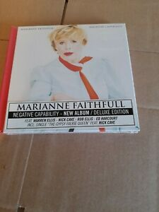 MARIANNE FAITHFULL - NEGATIVE CAPABILITY (CD DELUXE EDITION)  NEW & SEALED