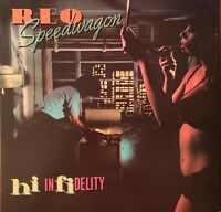 REO SPEEDWAGON ~Pre-Owned LP-HI IN FIDELITY~PLAYED ONCE  LP//NM SL//NM//ISL//NM