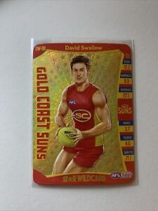 2019 AFL Teamcoach David Swallow STAR WILDCARD SW-08