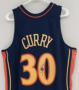 Stephen Curry Mitchell & Ness Signed 2009-10 Warriors NBA Auto Jersey FANATICS