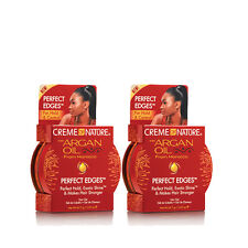 Creme of Nature Perfect Edges Control Hair Gel 2.25 oz [2 Pack]