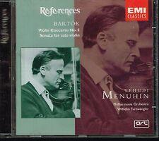 CD album: Bartok: Yehudi Menuhin. Furtwangler. EMI. C1.