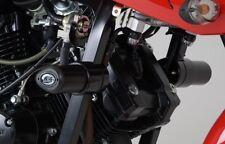 Hyosung GT125 N R&G Racing Aero Crash Protectors CP0296BL Black