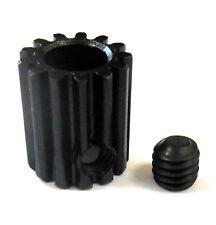 L613B Module 0.6 0.6M 13T 13 Teeth Tooth Motor Pinion Gear Black 540 5mm Bore
