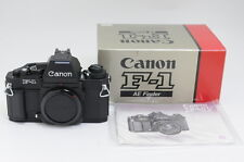 """Mint in Box"" Canon New F-1N 35mm Slr Film Camera Ae finder Sn.307* From japan"