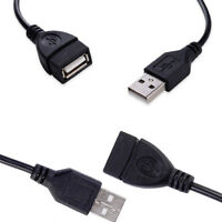 1M USB 2.0 Male To Female Cable Connector Adapter for Pendrive Printer Mouse