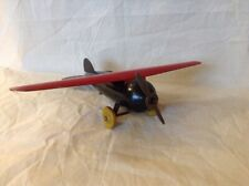Rare Wyandotte 1930's Toy Plane In Excellent Condition Early Press Steel