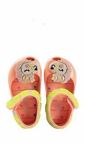 Mini Melissa Ultra Alpaca Baby Girls size 8 Shoes sandals jelly