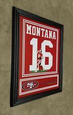 San Francisco 49ers Joe Montana 8x10 Framed Jersey Photo